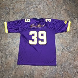 Vtg crown royal sports illustrated jersey stitched
